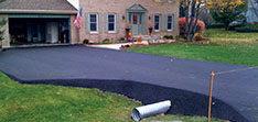 Driveway Sealcoated